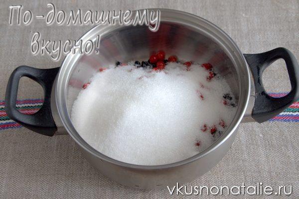 варенье из бузины с калиной рецепт с фото