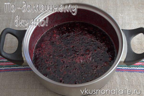 варенье из бузины с калиной рецепт заготовки на зиму