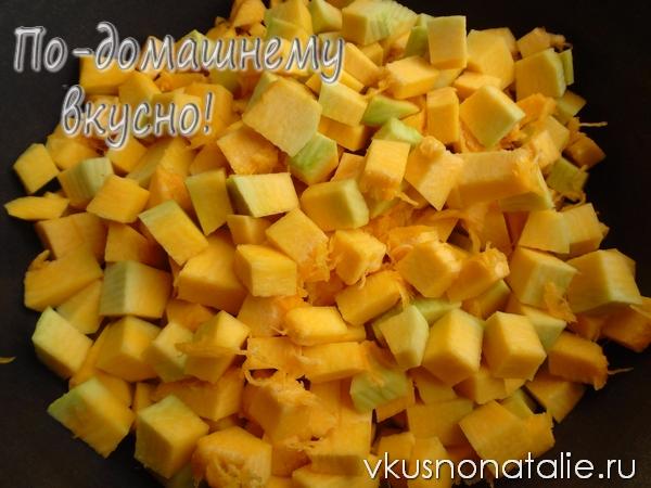 варенье из тыквы с апельсином пошаговый рецепт
