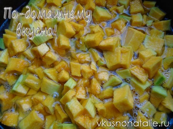 варенье из тыквы с апельсином на зиму пошаговый рецепт