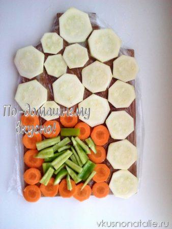 заморозка овощей на зиму