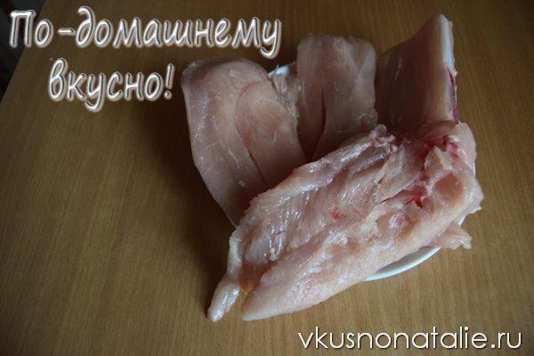курица по французски с кабачками рецепт