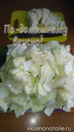 маринованная капуста с чесноком рецепт