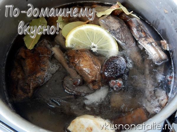 маринованные подосиновики пошаговый рецепт