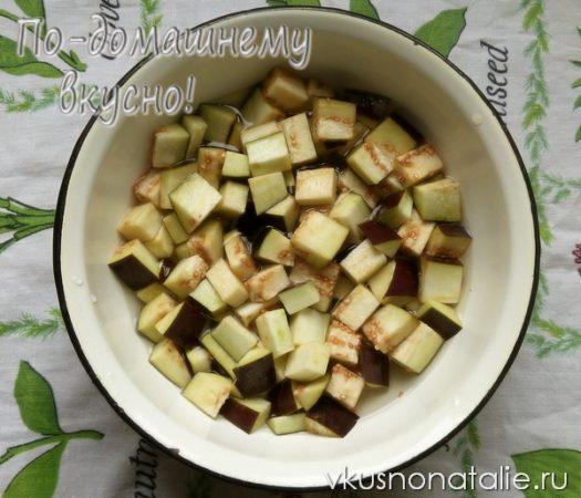 салат анкл бенс из баклажанов на зиму рецепт