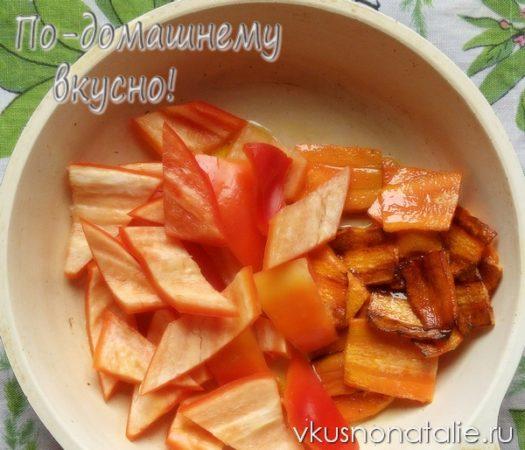 салат пятерочка из баклажанов на зиму рецепт с пошаговыми фотографиями