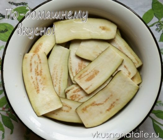 салат тещин язык из баклажан на зиму пошаговый рецепт
