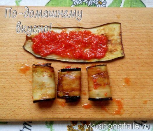 салат тещин язык из баклажанов на зиму