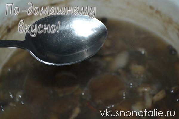 маринованное грибное ассорти на зиму