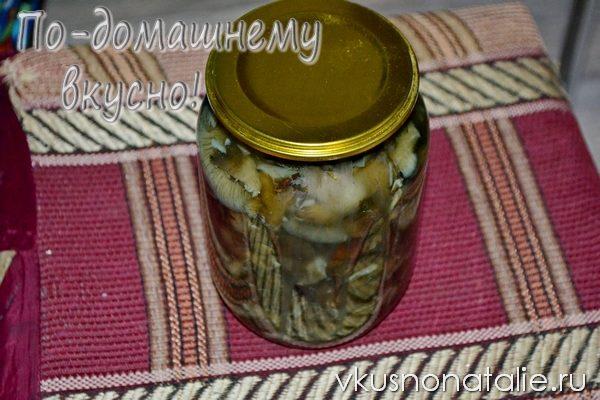 маринованное грибное ассорти рецепт