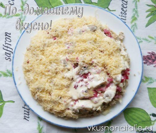 салат 31 декабря с сыром