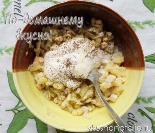 салат петух пошаговый рецепт