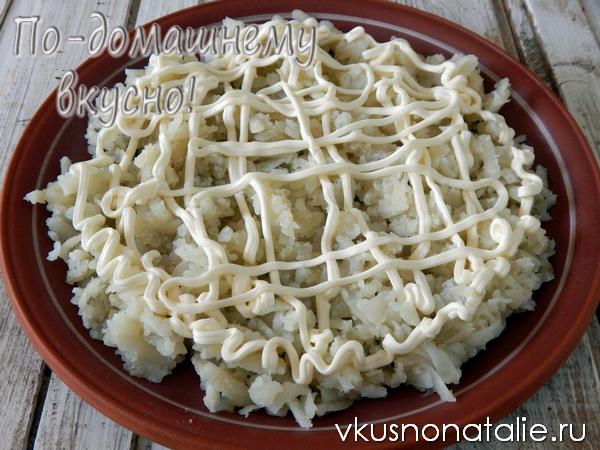 салат подсолнух рецепт с пошаговыми фото