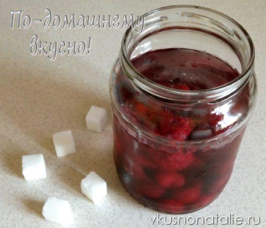 вишневая настойка на водке