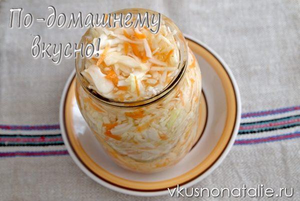 квашеная капуста со свеклой рецепт