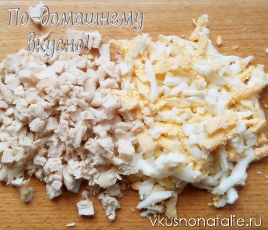 салат морская звезда пошаговый рецепт