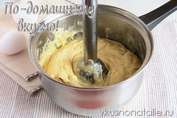 тесто для заварных пирожных