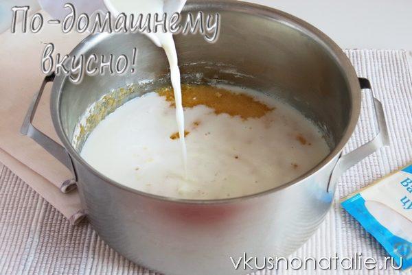 Крем заварной на сливках рецепт пошагово