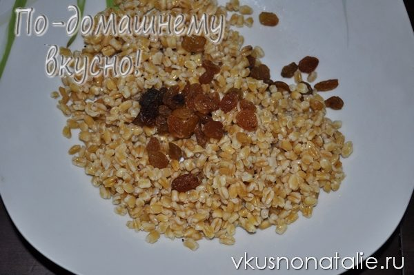 кутья из пшеницы рецепт