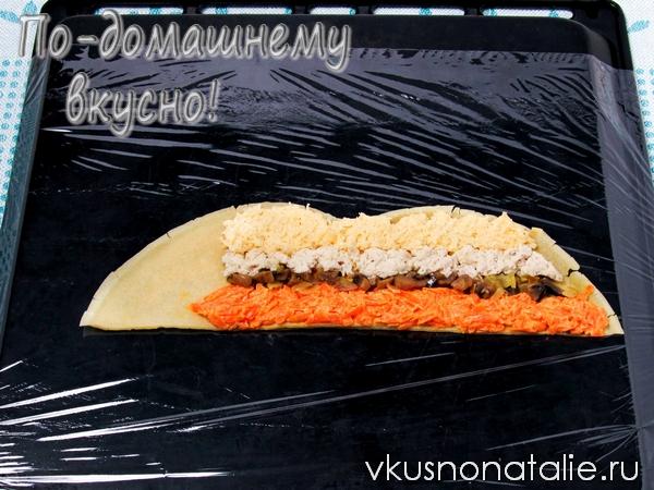 салат пенек рецепт с фото
