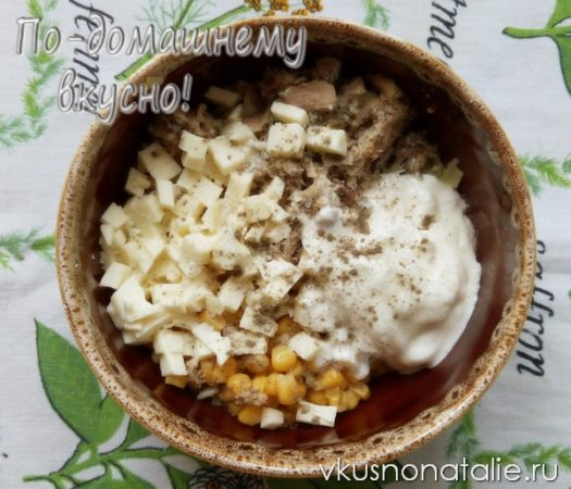 салат свеча пошаговый рецепт