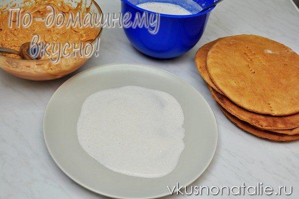 медовик домашний рецепт с фото