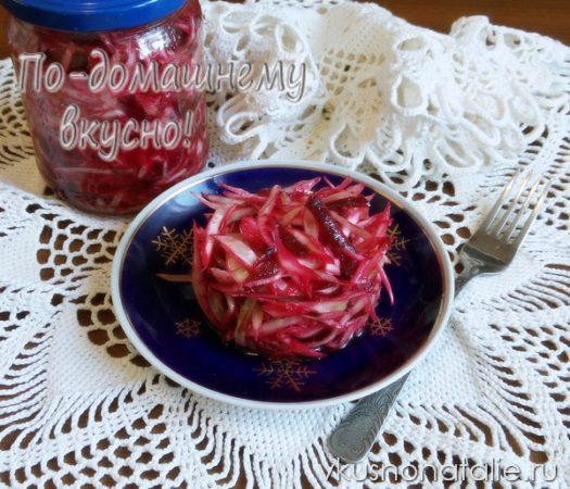 салаты из капусты на зиму