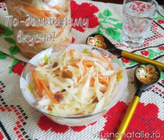 заготовки на зиму из капусты лучшие рецепты салаты