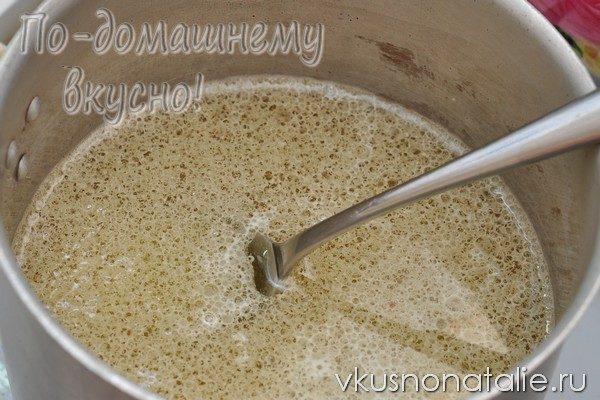 медовая коврижка в мультиварке пошаговый рецепт