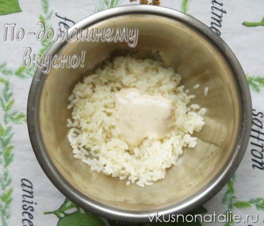 слоеный салат с сайрой рецепт