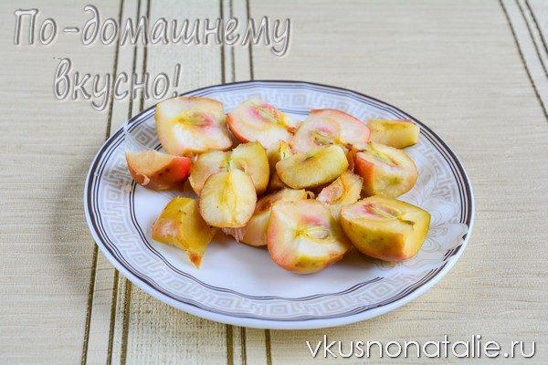 варенье из яблок с орехами рецепт на зиму
