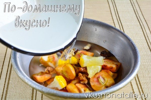 яблочное варенье с орехами рецепт