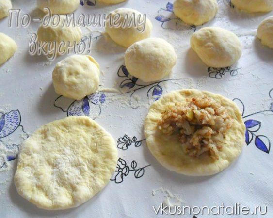 как приготовить пирожки с рисом и ливером