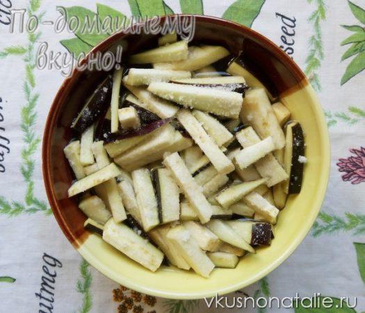 баклажаны по корейски на зиму пошаговый рецепт