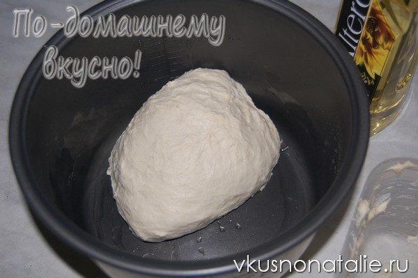 белый дрожжевой хлеб в мультиварке панасоник
