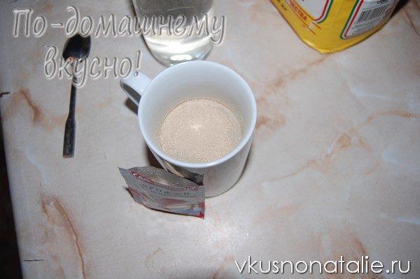 белый дрожжевой хлеб в мультиварке пошаговый рецепт