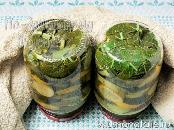 кабачки на зиму без стерилизации
