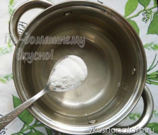 спаржевая фасоль на зиму пошаговый рецепт