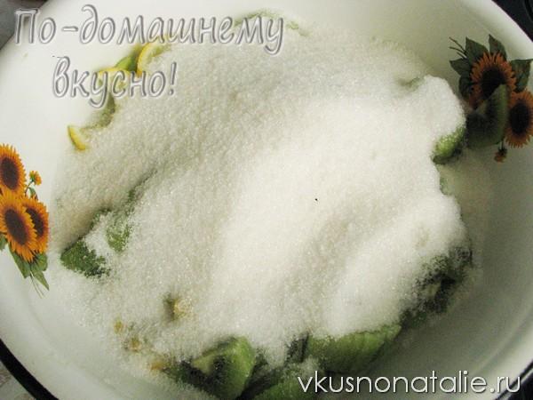 варенье из киви с лимоном пошаговый рецепт