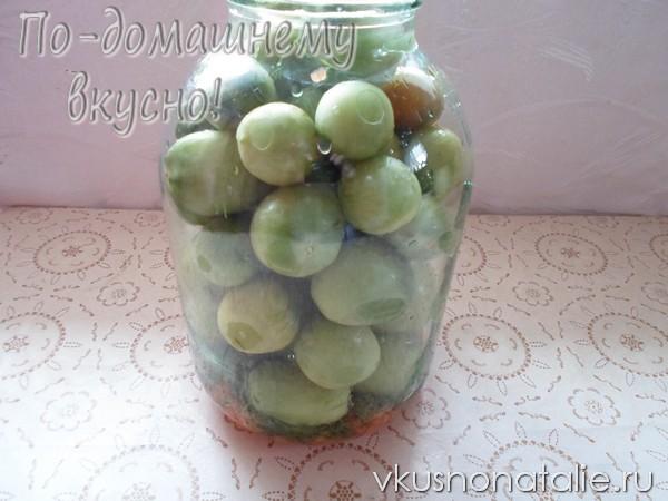 зеленые помидоры по крейски