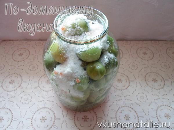 зеленые помидоры по крейски пошаговый рецепт