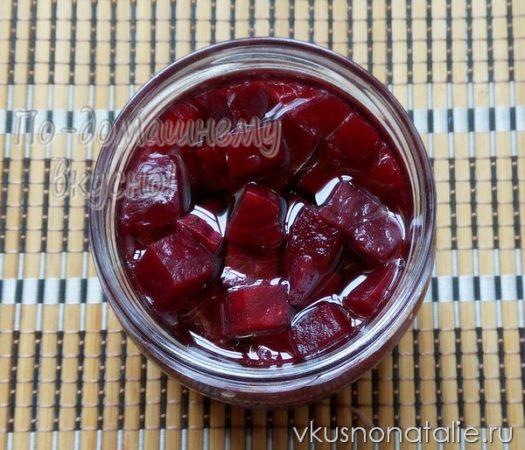 маринованная свекла на зиму рецепт с фото