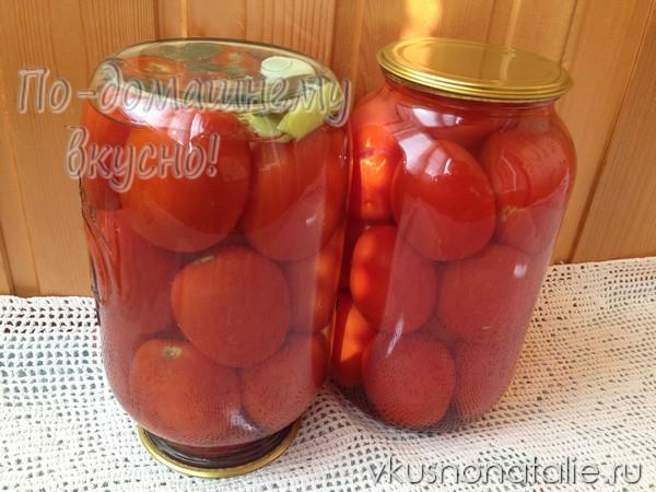 маринованные помидоры с острым перцем