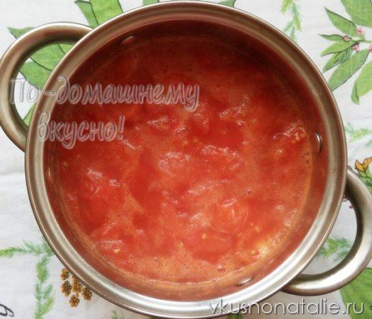 томатная паста в домашних условиях пошаговый рецепт