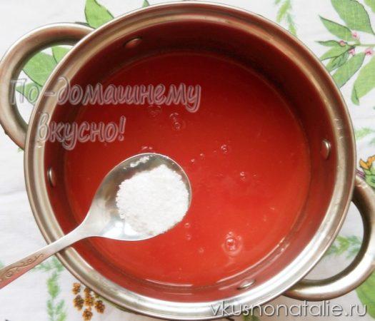 томатная паста в домашних условиях рецепт