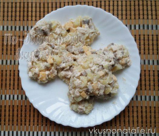 новогодний салат собака пошаговый рецепт