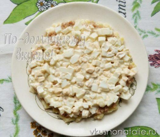 салат мимоза на новый год пошаговый рецепт с фото