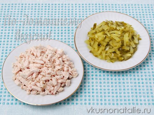 салат сирень пошаговый рецепт приготовления