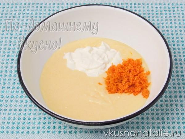 кекс апельсиновый с шоколадом как приготовить