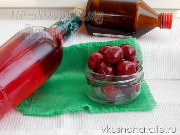 настойка из вишни на спирту рецепт